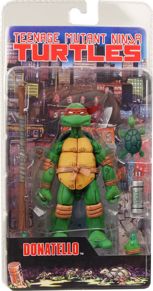 Neca TMNT //Final Card Single -  Donatello [[ NECA ONLINE PIX ]]