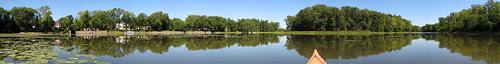 Parc de la Riviere-des-Mille-Îles, 11 September 11, river bank by Île Chabot and Île Desroches