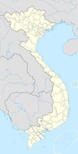 Nhà máy thủy điện Hòa Bình trên bản đồ Việt Nam