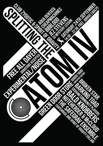 Splitting The Atom IV, 24/09/2011