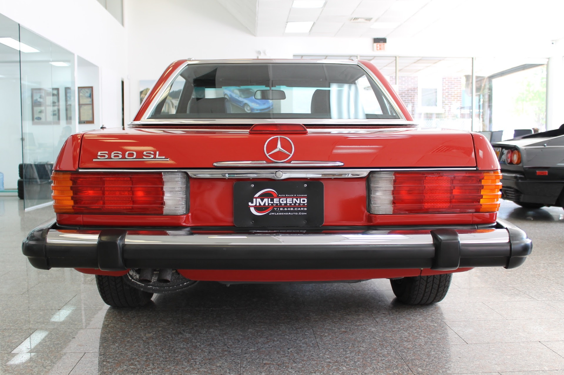 1988 Mercedes-Benz 560SL 560SL 3,280 Miles Red Convertible ...
