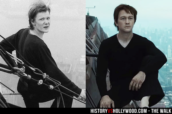 Philippe Petit and Joseph Gordon-Levitt
