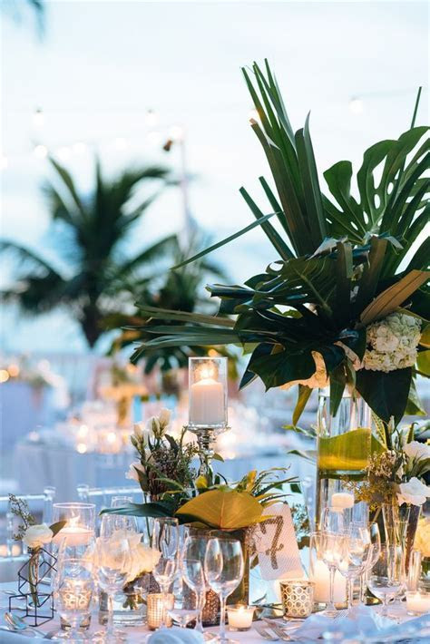 25  best ideas about Tropical Wedding Reception on