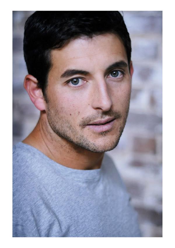 Male Modelling Portfolio, Matt, Studio Headshot. Kent Johnson Photographer