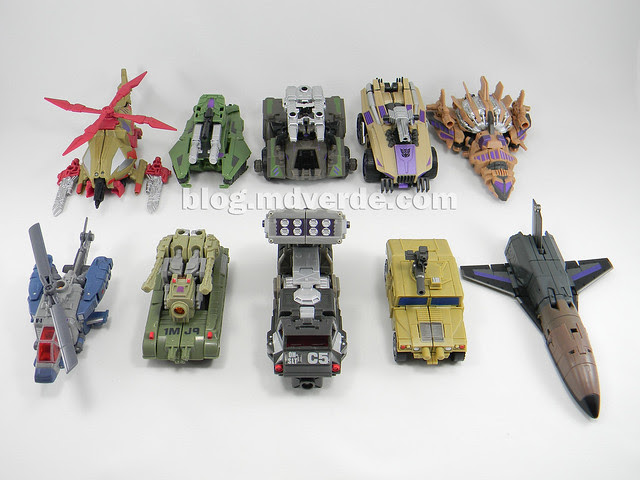 Transformers Bruticus Generations Fall of Cybertron - SDCC Exclusive - Combaticons modo alterno vs Universe