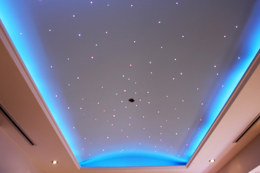 Lights in ceiling for stars  My-Rome