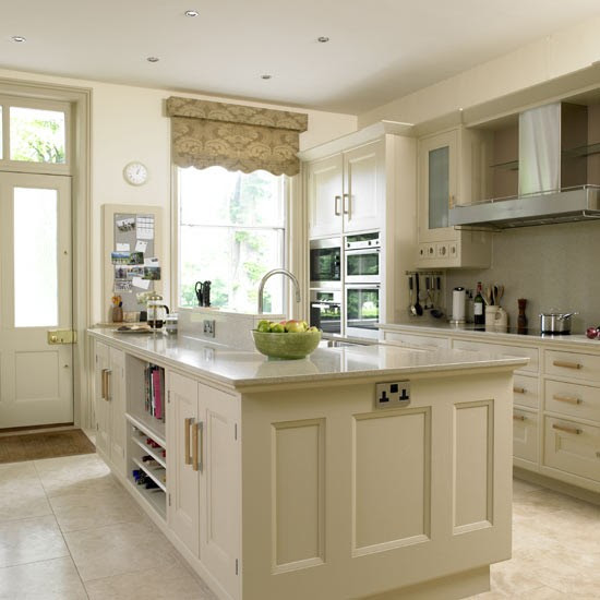 Cream kitchen | Kitchens | Kitchen ideas | Image | housetohome.