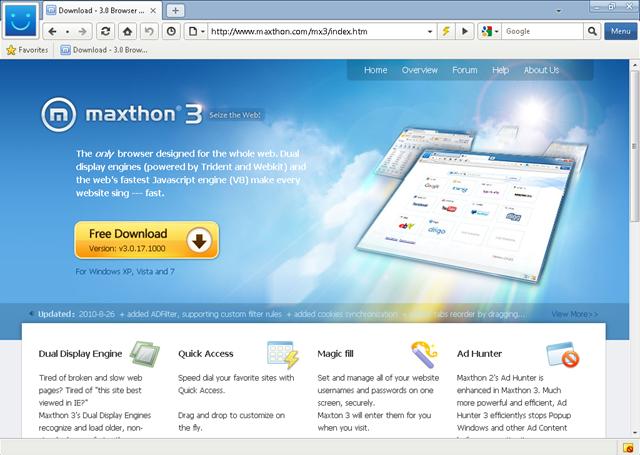 Maxthon 3