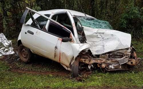 Virmond - Grave acidente é registrado na BR-277