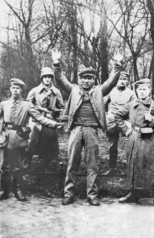 German revolutionary captured in Bavaria