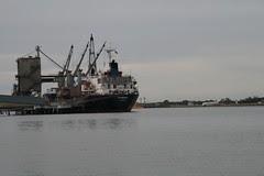 Ship at Pinkenba