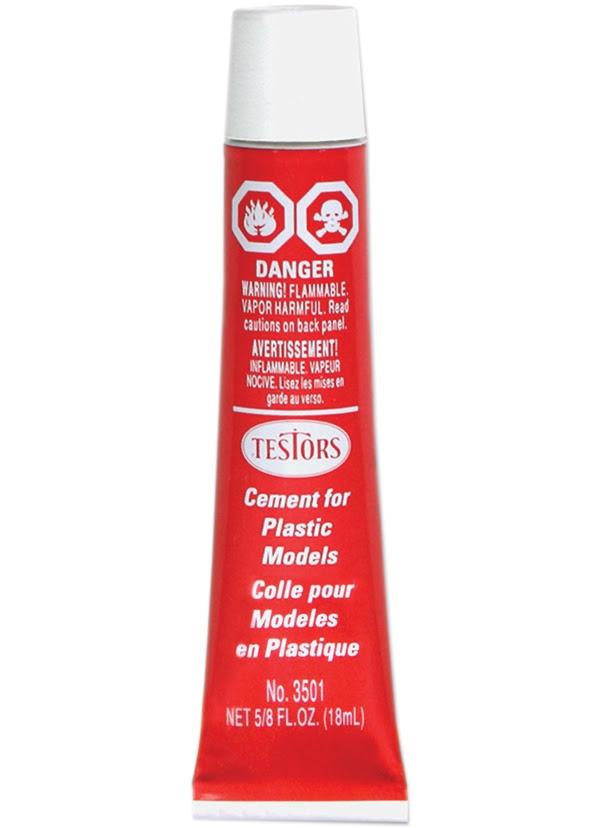 Testors 5/8 oz Plastic Glue