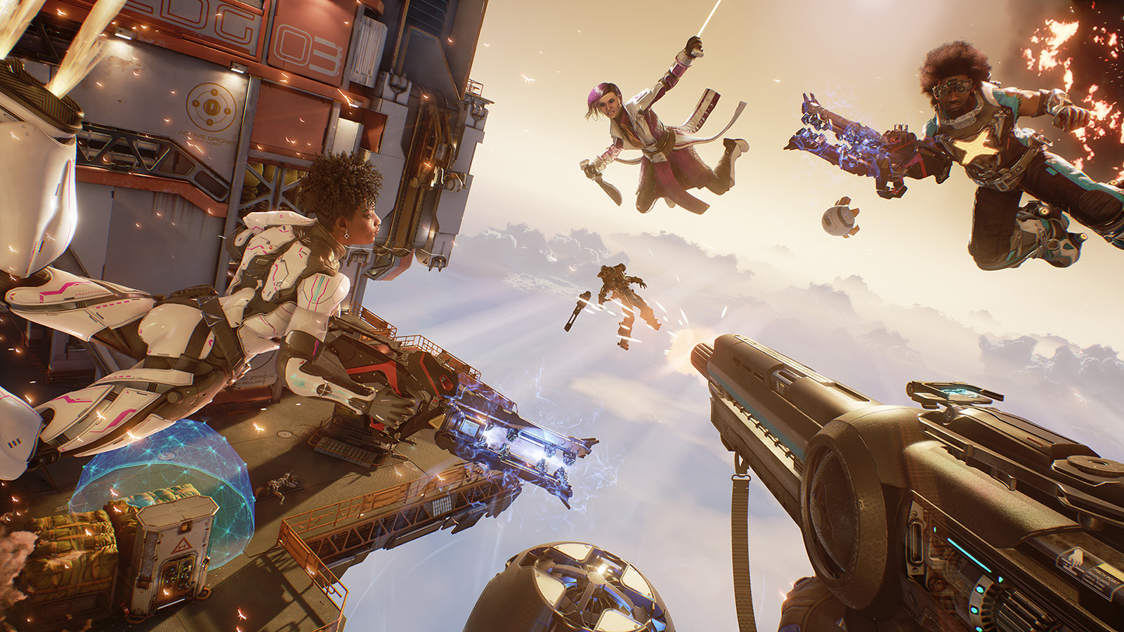 LawBreakers is holding an open beta on PC and PS4 this Friday screenshot