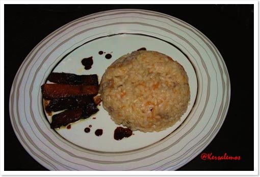risotto zucca e salsiccia