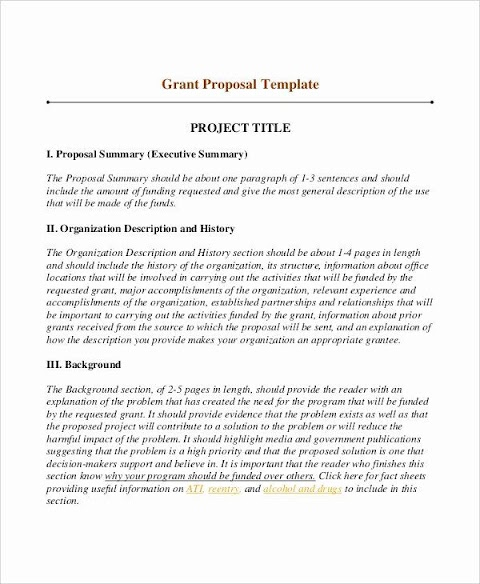 42+ How To Write A Good Proposal For Funding