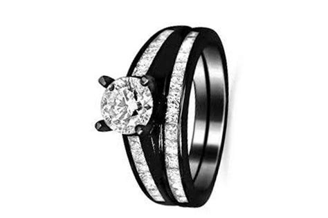 What Does A Black Wedding Ring Symbolize   Wedding Ideas
