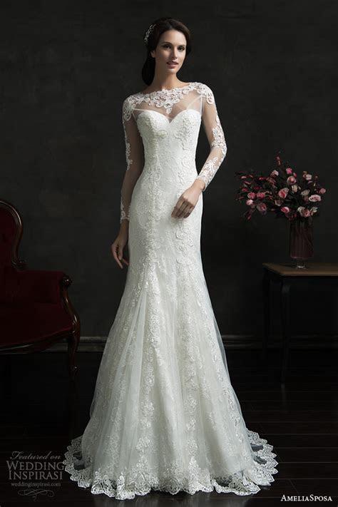 Lace overlay wedding dress   Luxury Brides