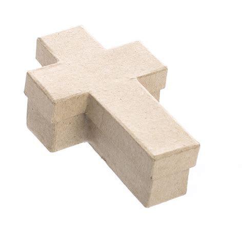 Paper Mache Cross Box   Paper Mache   Basic Craft Supplies