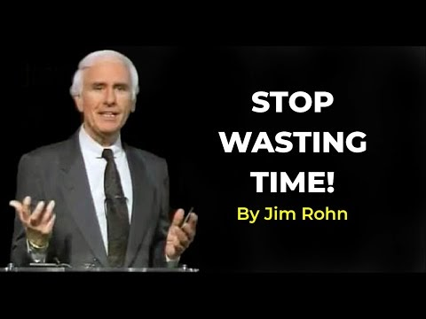 How To Master  the Art of Time Management- -Jim Rohn-