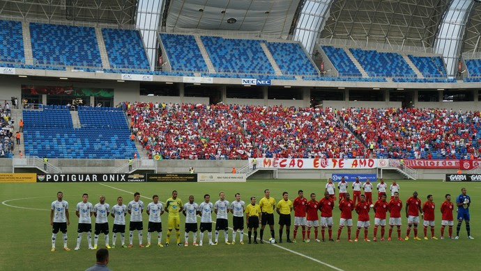 América-RN x ABC, Arena das Dunas, Campeonato Potiguar (Foto: Augusto Gomes)