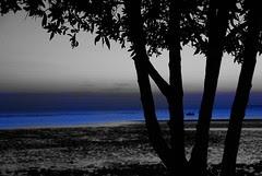 Blue [cutout] الله