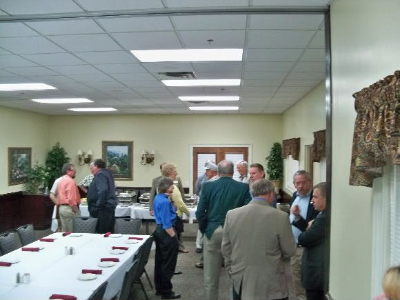 Socializing Before the Meeting