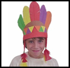 Native<br />  AmericanFoamie Headdress  : Crafts Ideas for Parades