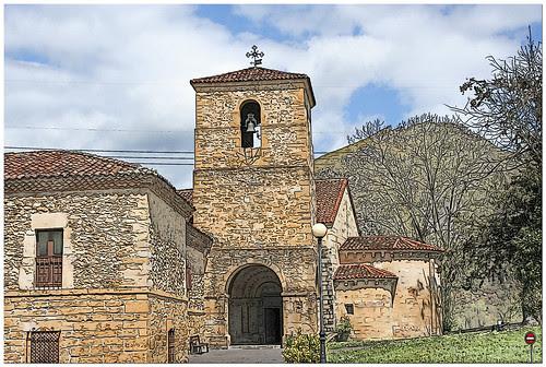 capilla del parador de Cangas de Onis
