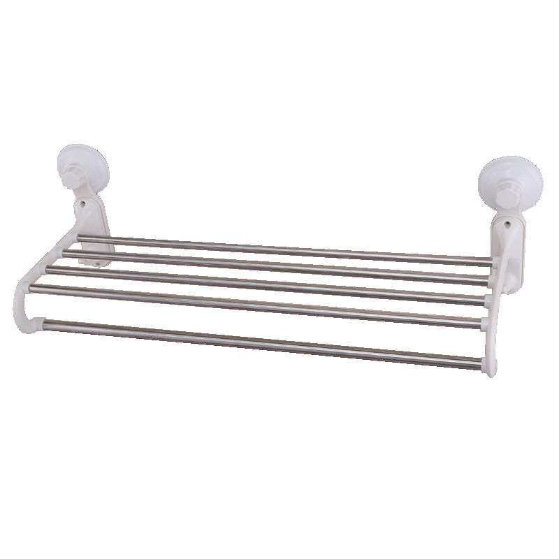 Shuangqing 60 Cm Stainless Steel Towel Bar Wall Mounted Type Towel R
