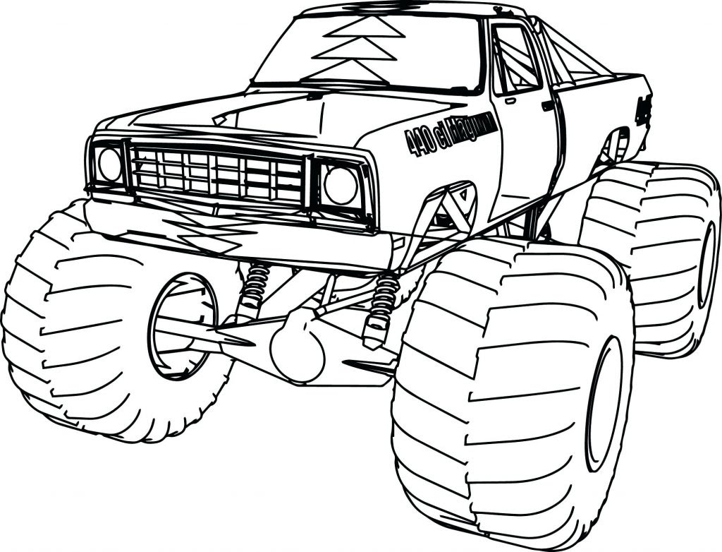 Monster Truck Coloring Pages Pdf at GetColorings.com ...