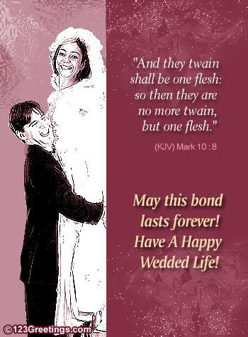 Christian Wedding Card. Free Around the World eCards