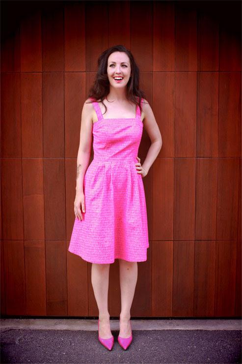 Scribble Dress #1