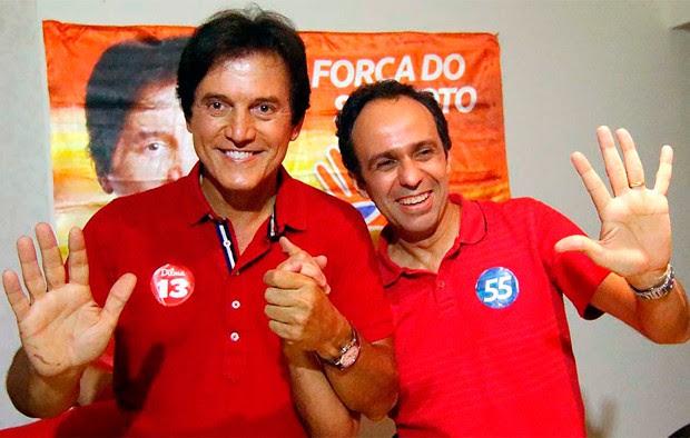 Robinson Faria e Fábio Dantas foram eleitos governador e vice nas eleições deste ano (Foto: Canindé Soares/G1)