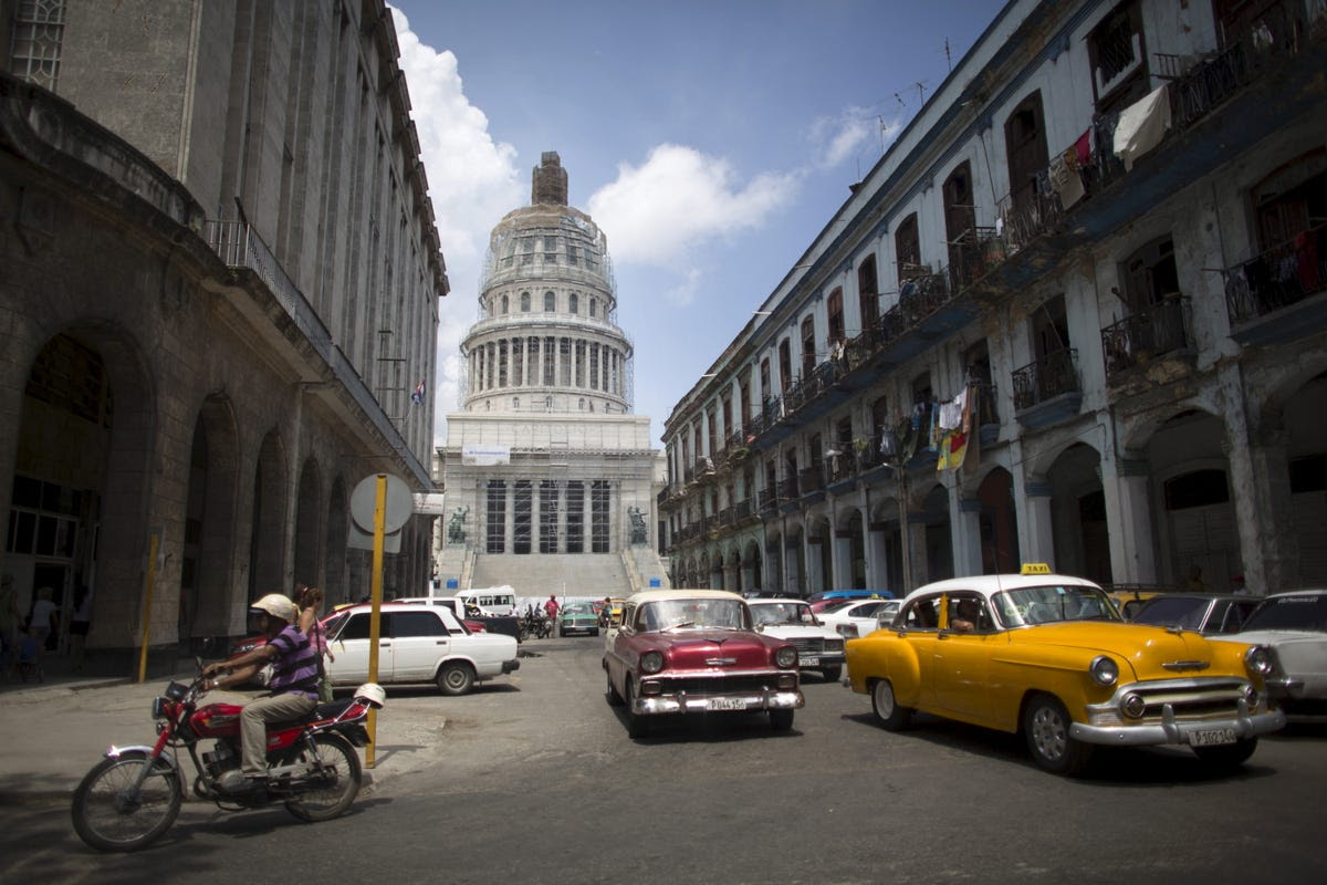 Cuba's El Capitolio was built between 1926 and 1929. It still stands today.