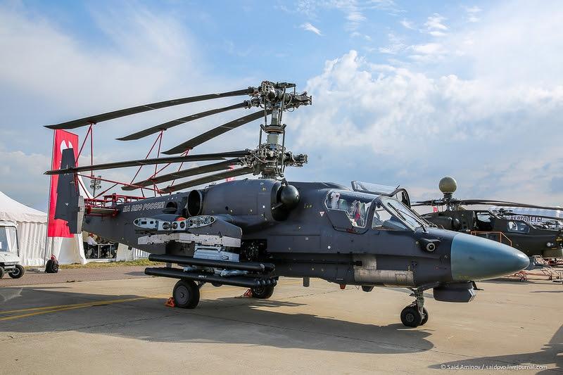 Heli KA-52K Rusia terbaru, dahsyat !