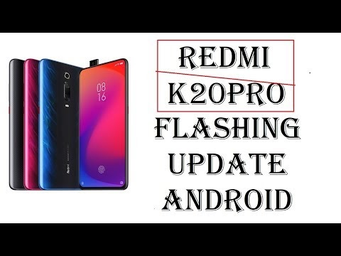 Redmi K20 Pro Flashing update Android latest by softichnic