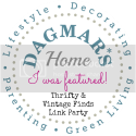 Dagmar's Home Thrifty and Vintage link party featured