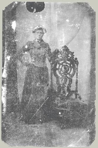 tintype lady