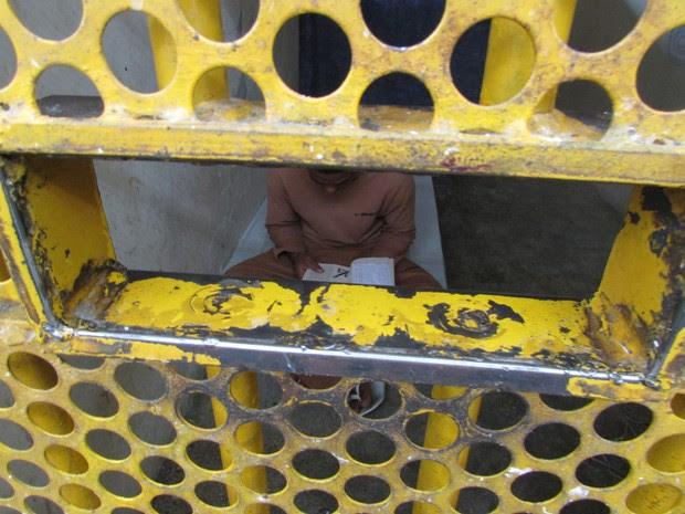 Portaria impõe leitura aos presos de castigo na solitária (Foto: Maria Teresa Oliveira Ivo/Arquivo pessoal)