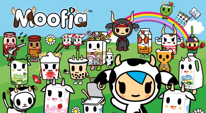 Moofia Tokidoki Characters