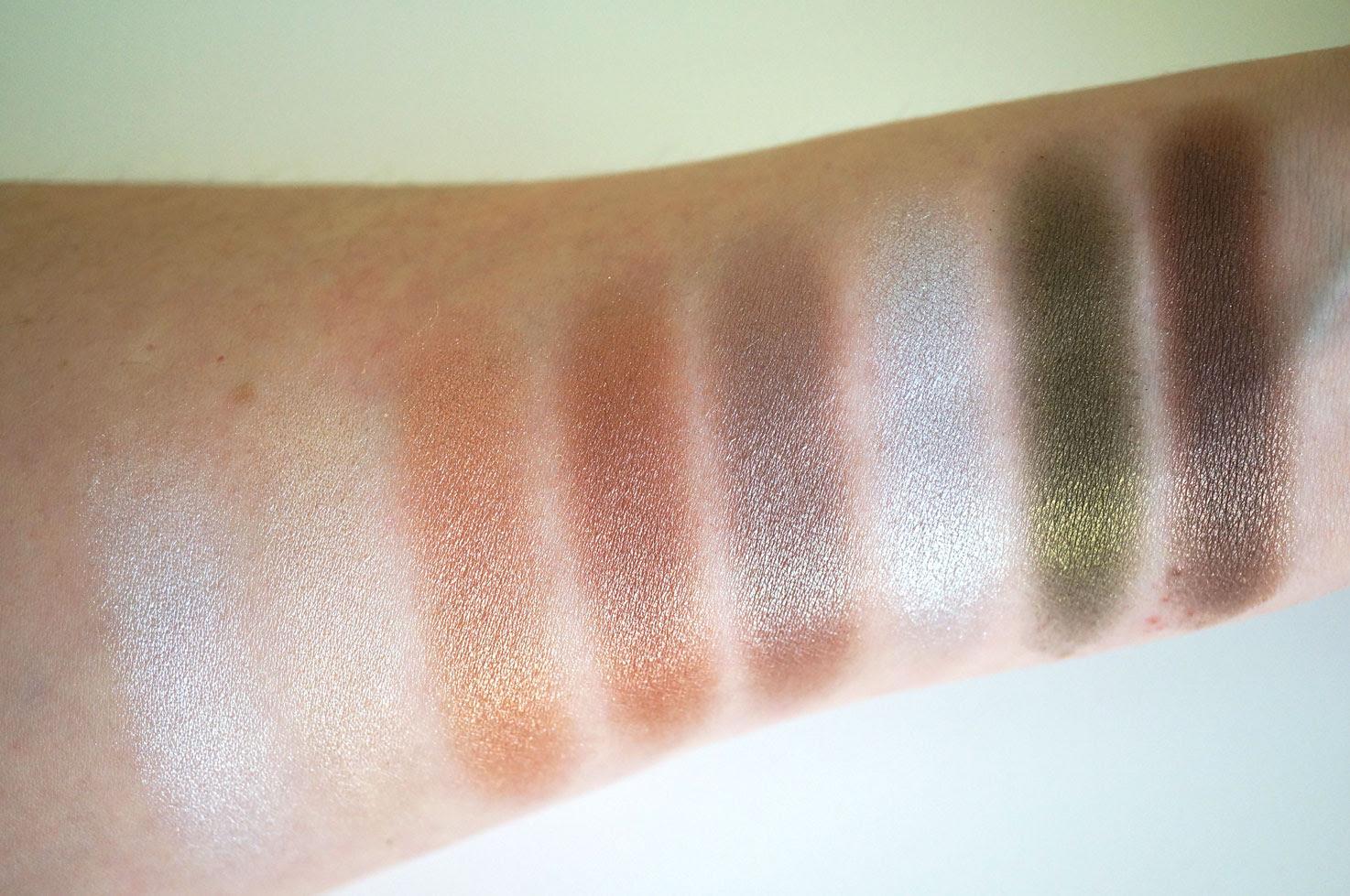 Makeup revolution kisu palette swatches