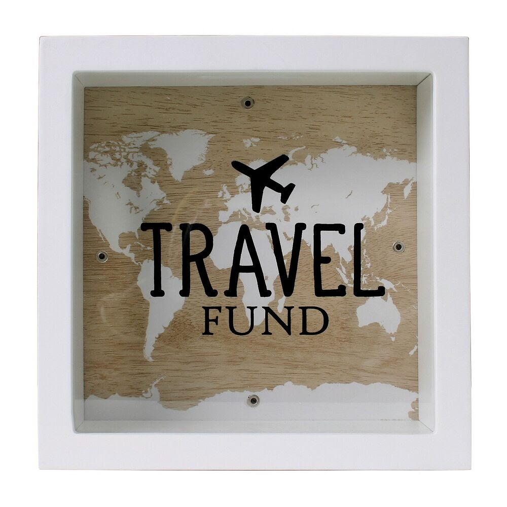Travel Fund 'Change Box' travelling savings Money Box | eBay