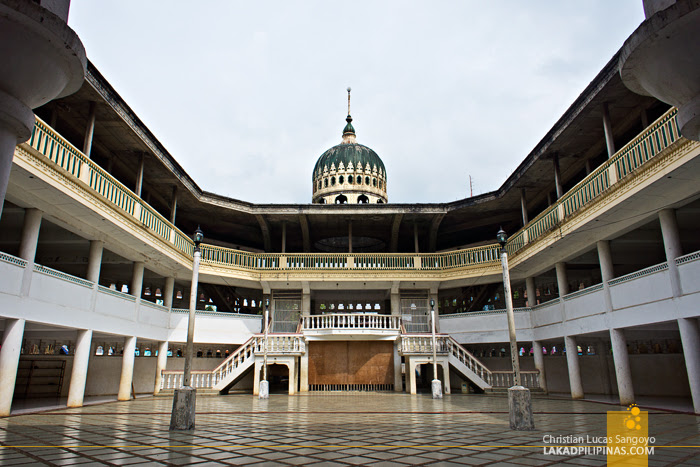 The Mindanao Islamic Center Mosque in Marawi City