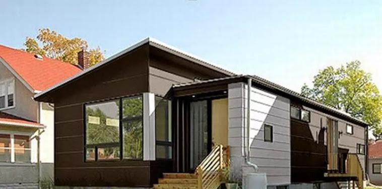 Kumpulan Gambar Model Rumah Kayu Minimalis Modern