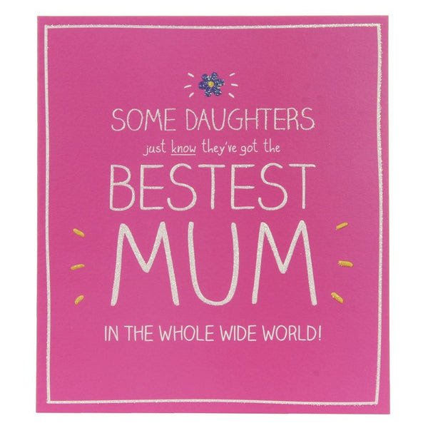Happy Jackson Bestest Mum Birthday Card The Lovely Room