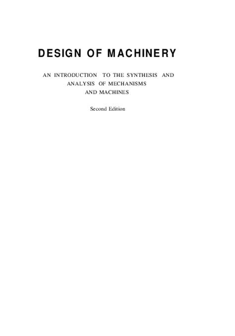 Design Of Machinery-Robert L.Norton | Yehia Mostafa