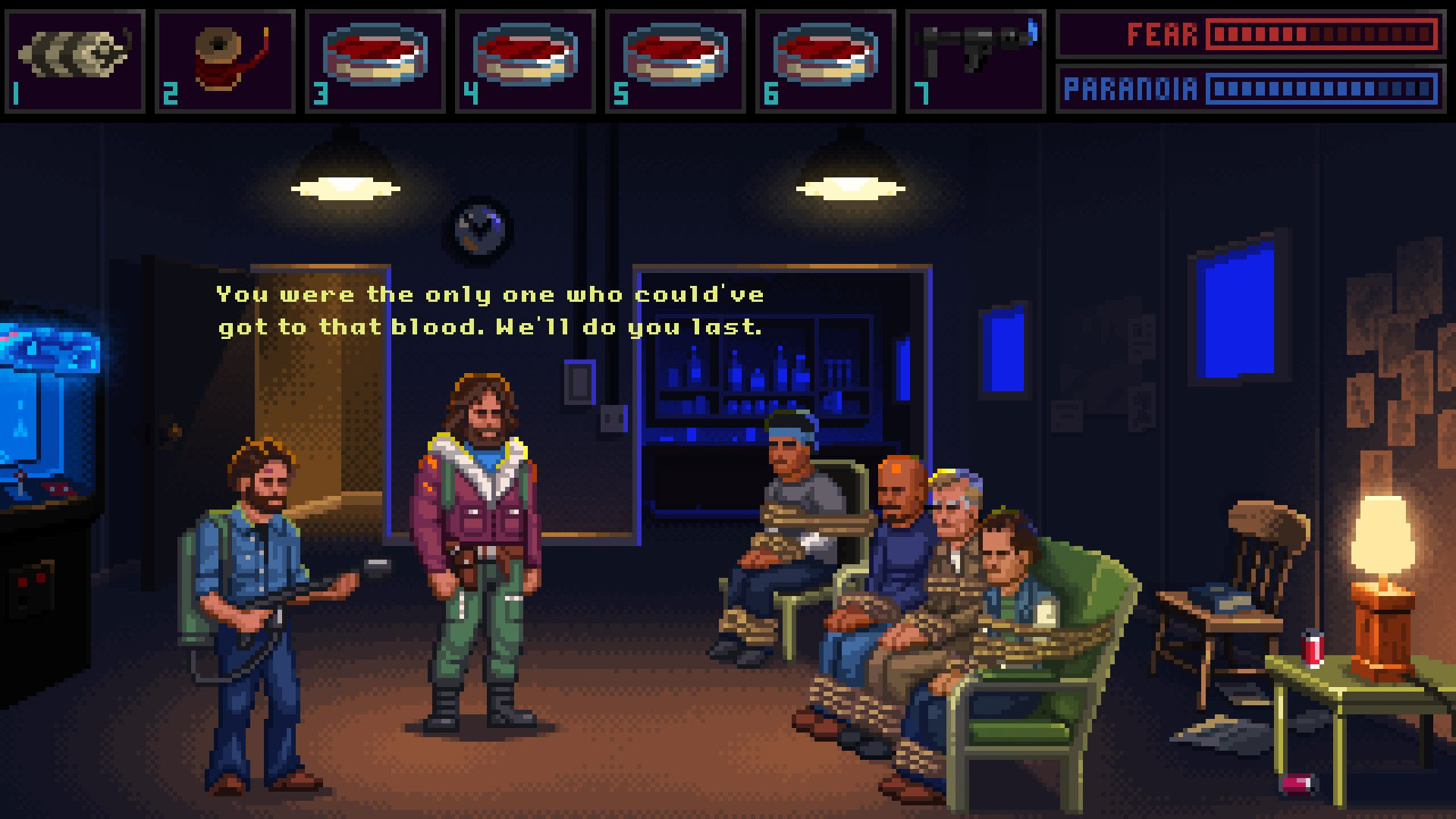 Shame we never got The Thing as a point-and-click adventure screenshot