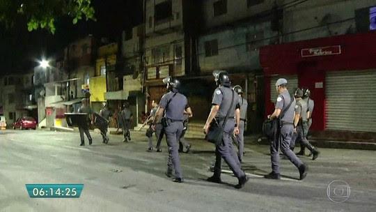 Protesto contra prisão de trio fecha vias na Zona Sul de SP
