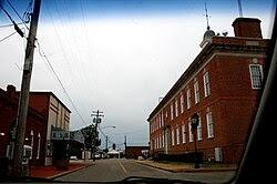 Town square in Savannah