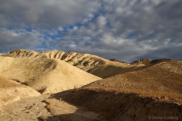 sunlight on hills, Death Valley National Park